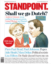 March issue of Standpoint where Professor Eales' letter appears